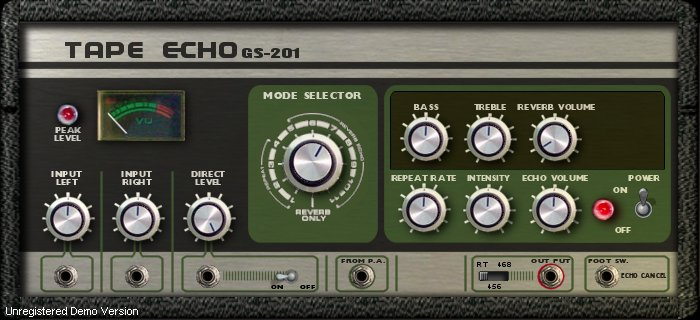 GSi GS-201 Tape Echo - ������� VST-������