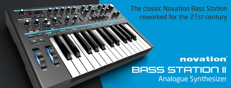����������� ������ Novation - Bass Station (VSTi, AU)