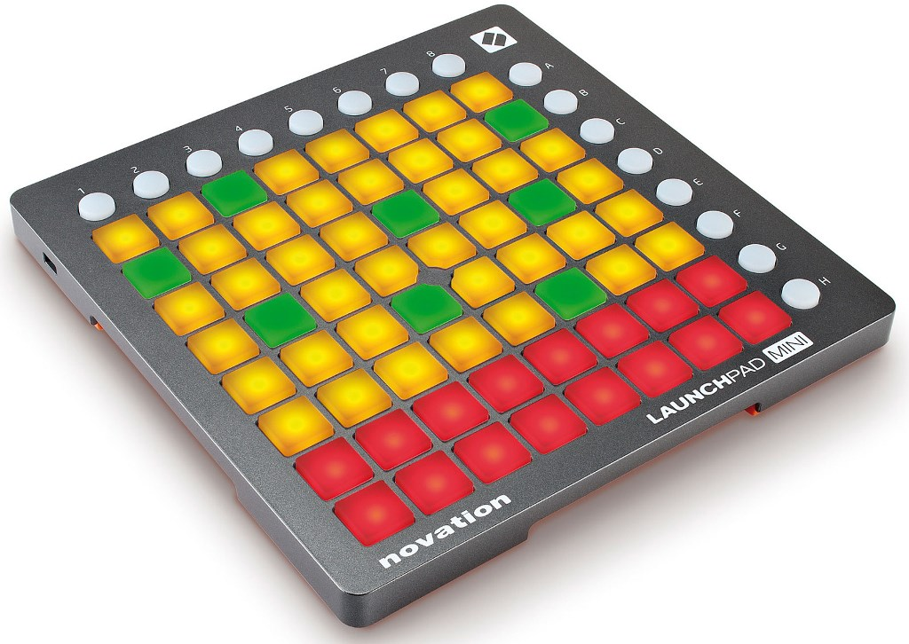 Novation Launchpad Mini - ������ ���������� ��� �������� ������