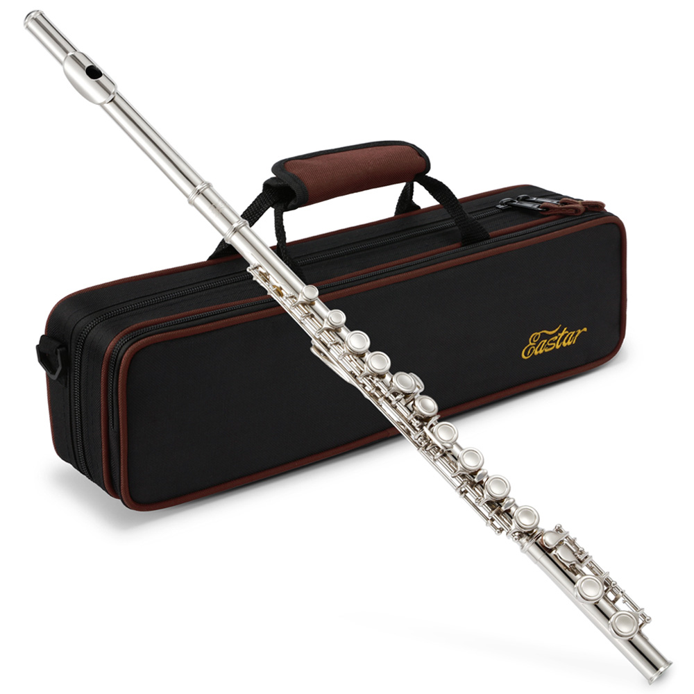 Flute with accessories