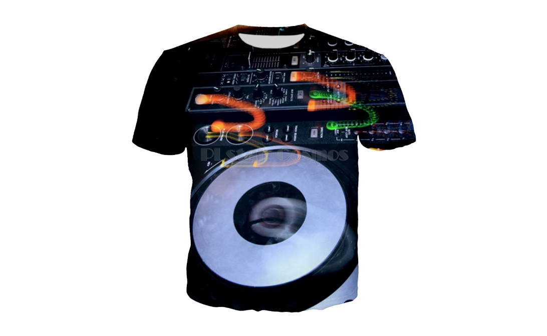 Themed T-shirts for DJ