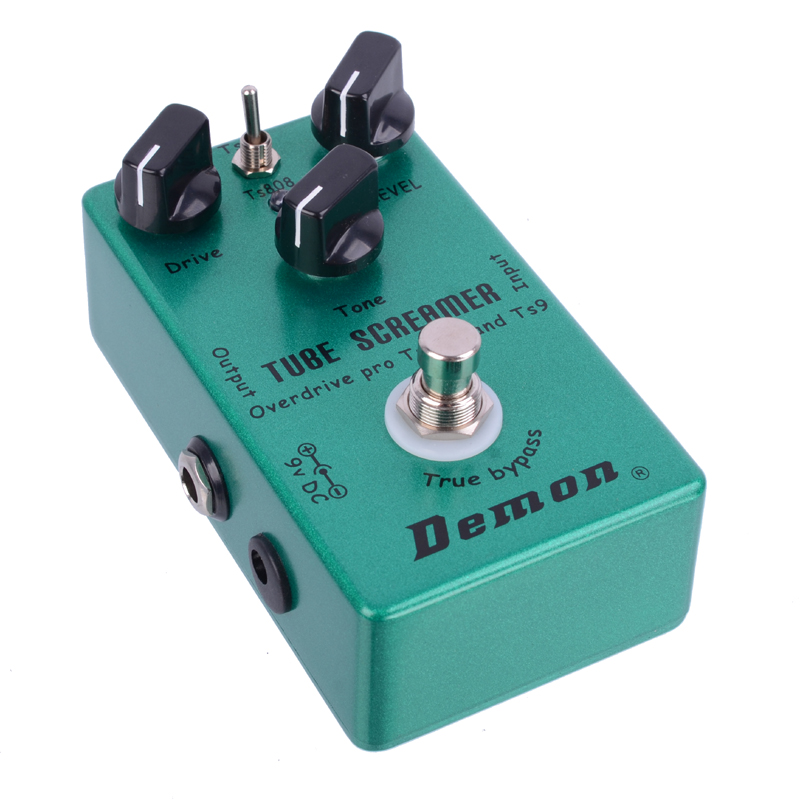 Demon Tube Screamer овердрайв педаль