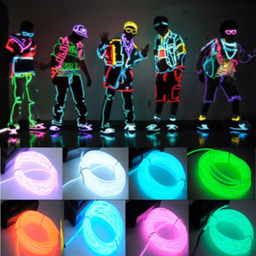 LED clothing for performances