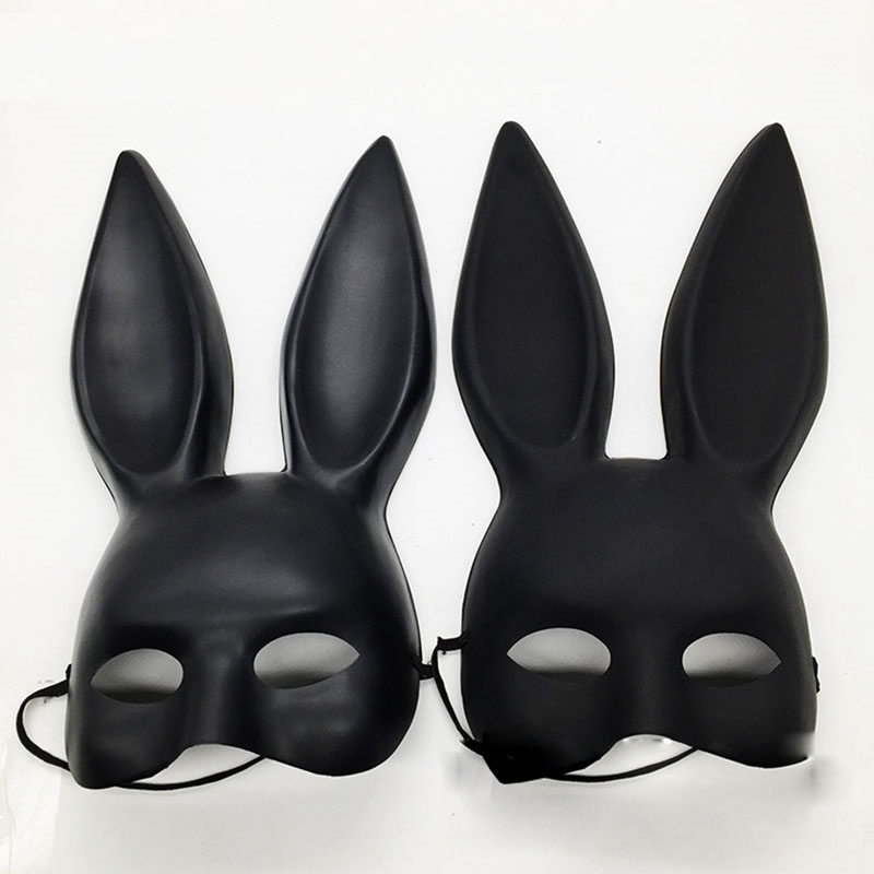 Rabbit ears mask for a party