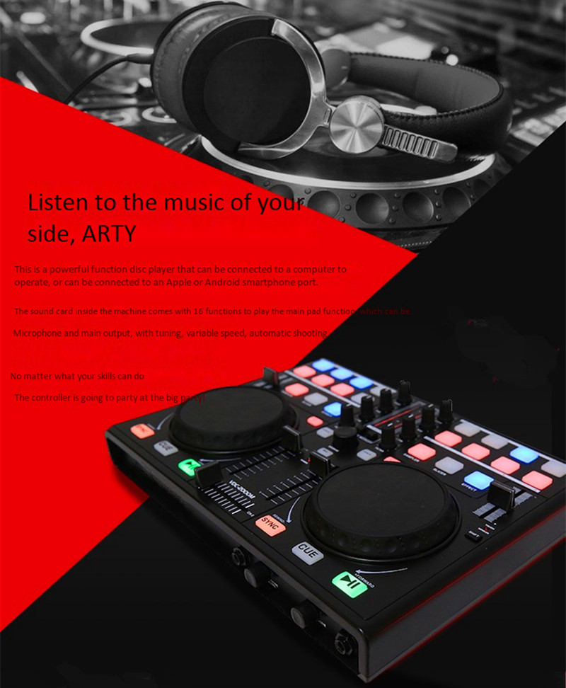 DJ controller for performances