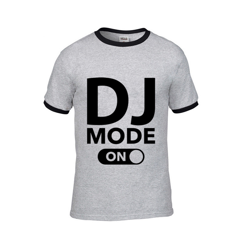 DJ MODE summer music t-shirt
