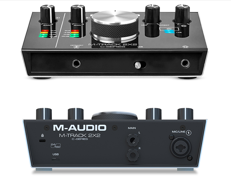 M-Audio M-Track 2x2 sound card