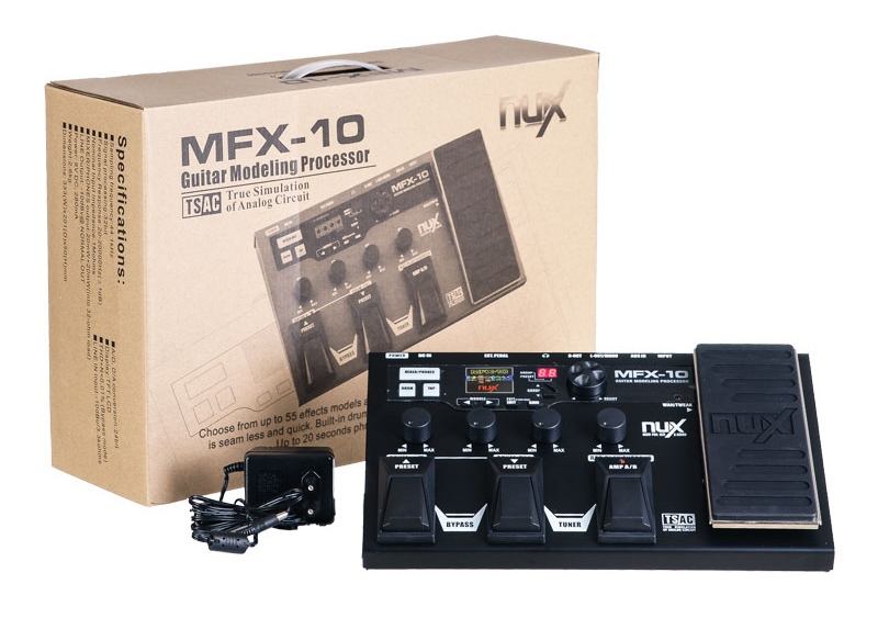 NUX MFX-10 guitar effects processor