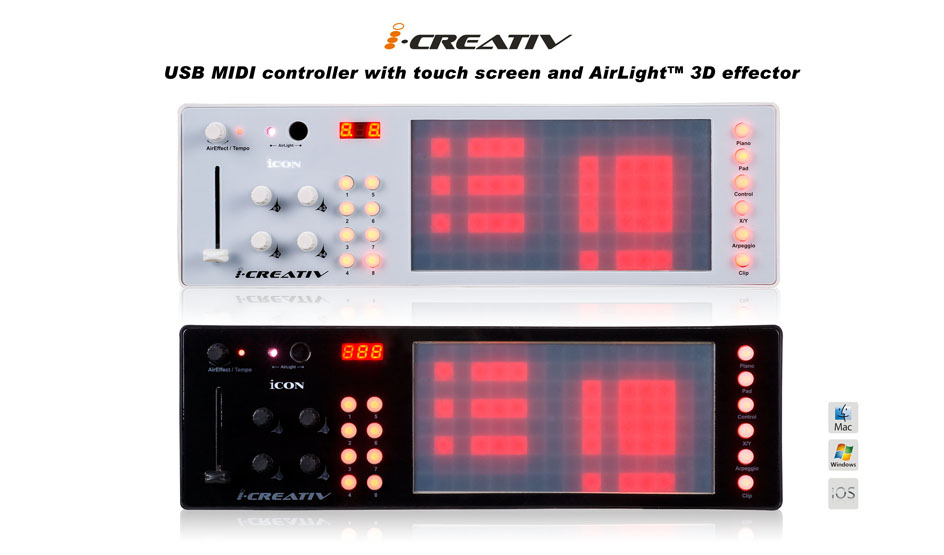 ICON iCreativ controller for creativity