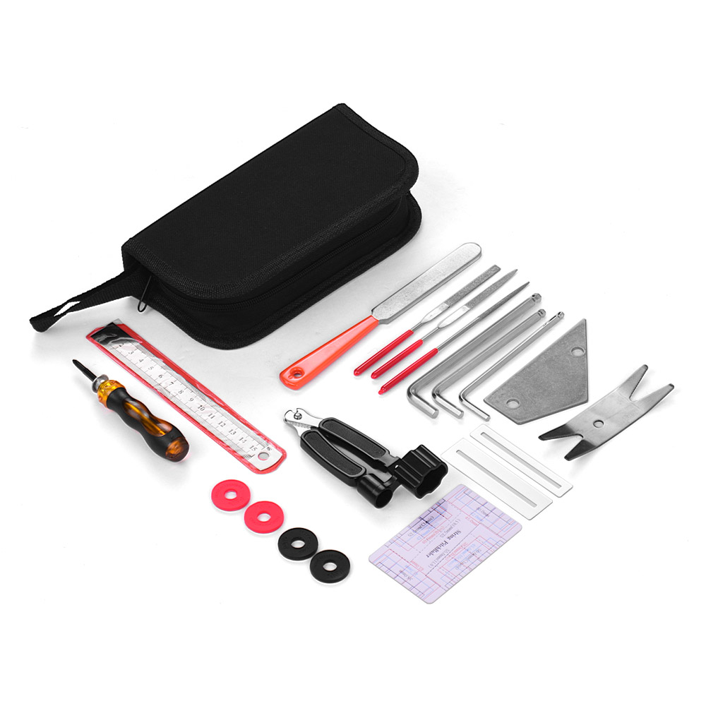 Guitar repair tool kit
