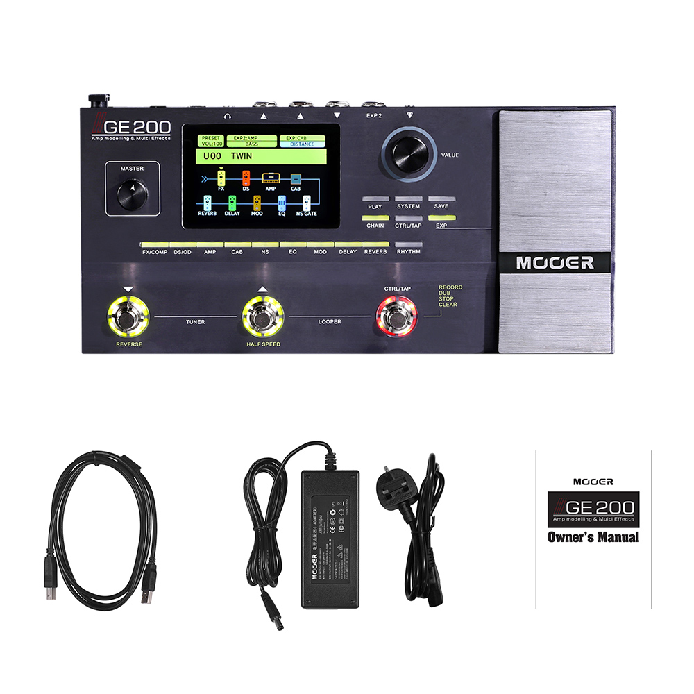 MOOER GE200 multi-effects processor