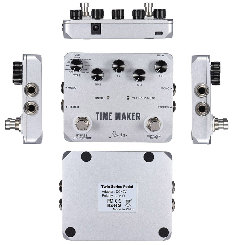 Rowin Time Maker Delay Effect