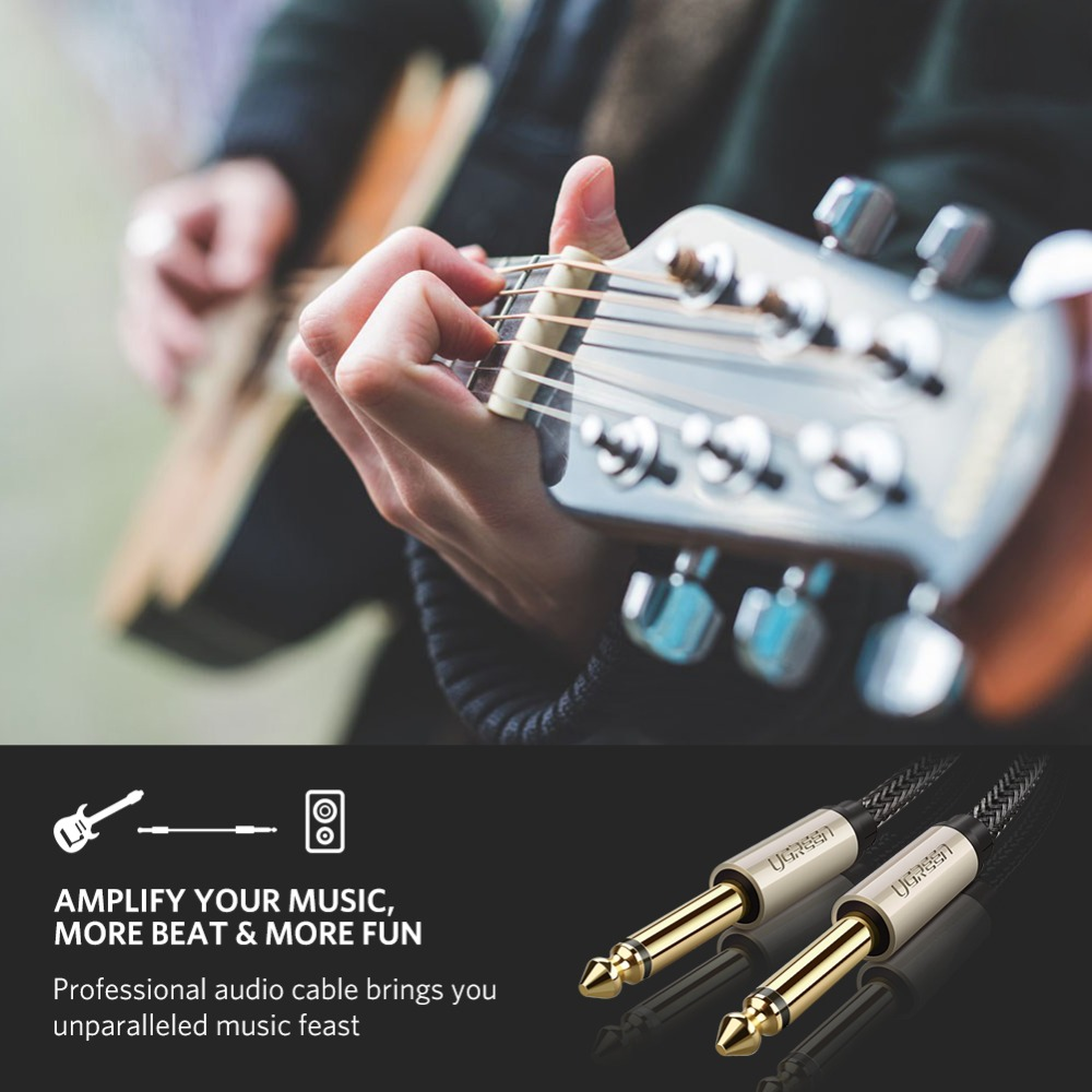 6.35mm jack audio cable
