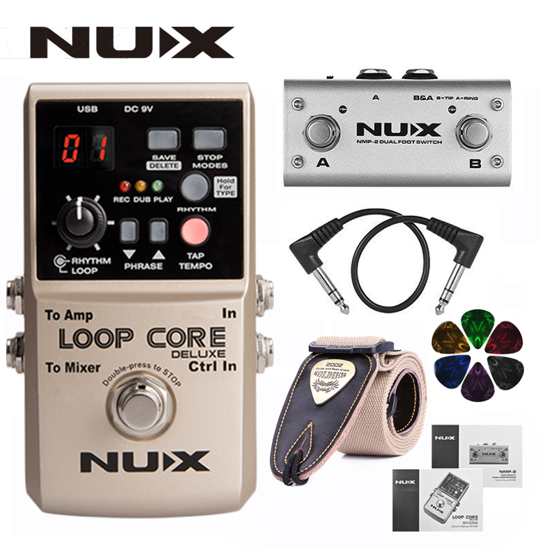 NUX Loop Core Deluxe Guitar Looper