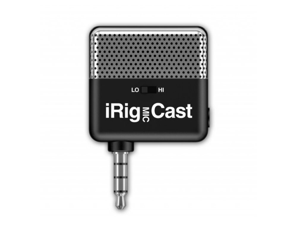 IK Multimedia iRig Mic Cast микрофон