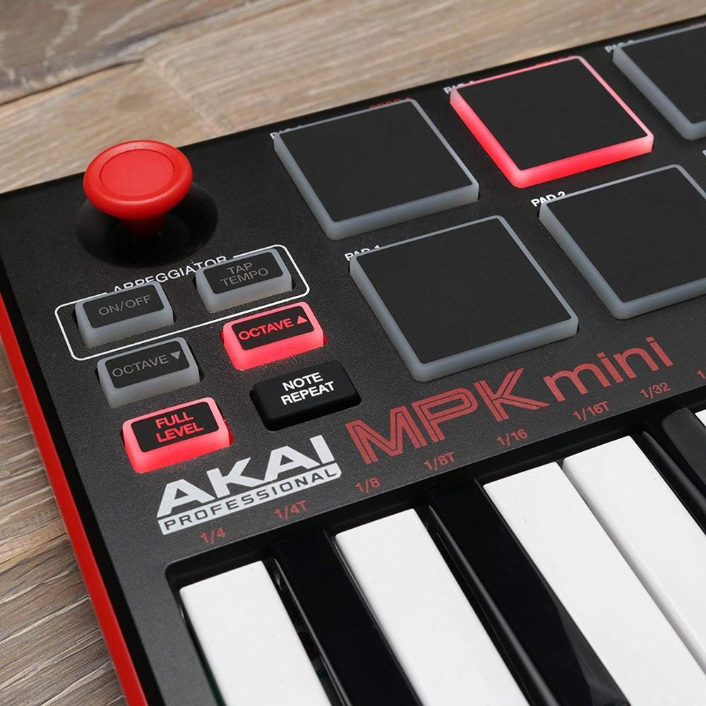 AKAI MPK MINI MK2 controller for creating music